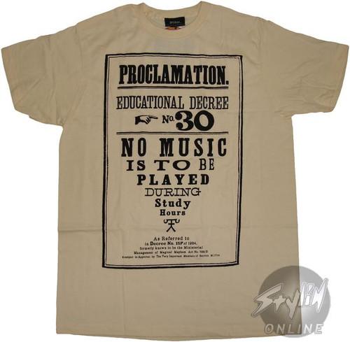 Harry Potter 30 T-Shirt Sheer