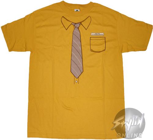 Office Yellow Shirt T-Shirt