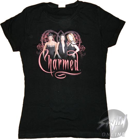 Charmed Flowers Baby Tee