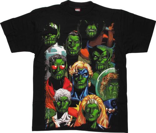 Marvel Skrull Torso T-Shirt