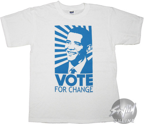 Barack Obama Change T-Shirt