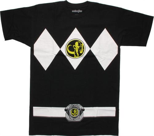 Power Rangers Black T-Shirt