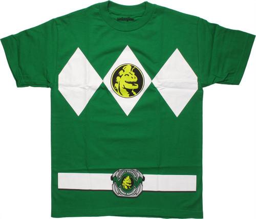 Power Rangers Green T-Shirt