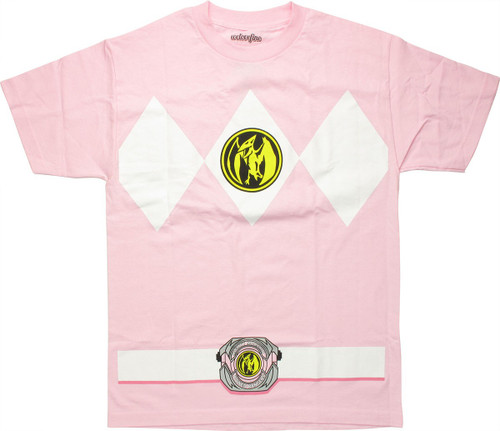 Power Rangers Pink T-Shirt