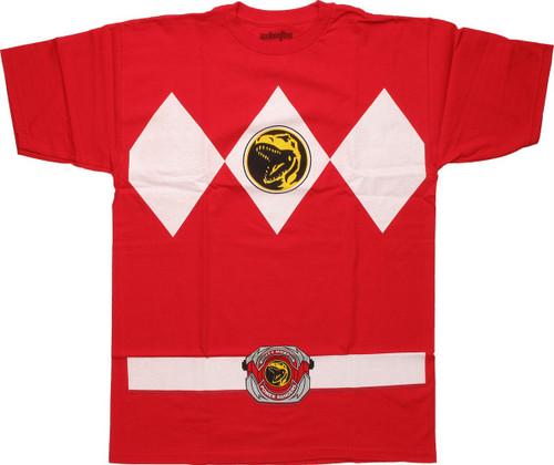 Power Rangers Red T-Shirt