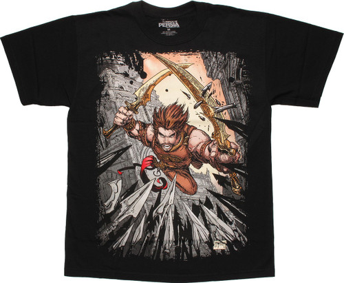 Prince of Persia Attack T-Shirt
