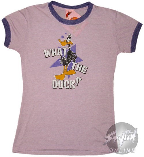 Daffy Duck What The Duck Baby Tee