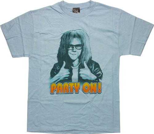 Saturday Night Live Party On T-Shirt