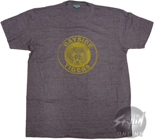Saved by the Bell Tigers Logo T-Shirt Sheer
