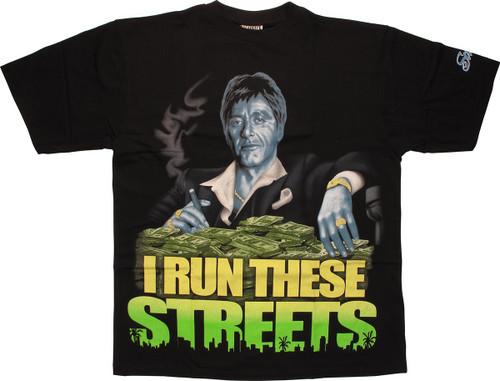 Scarface Run Streets T-Shirt