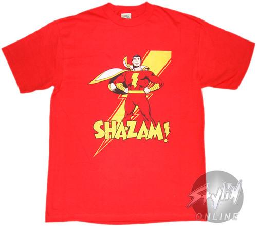 Shazam Tall T-Shirt