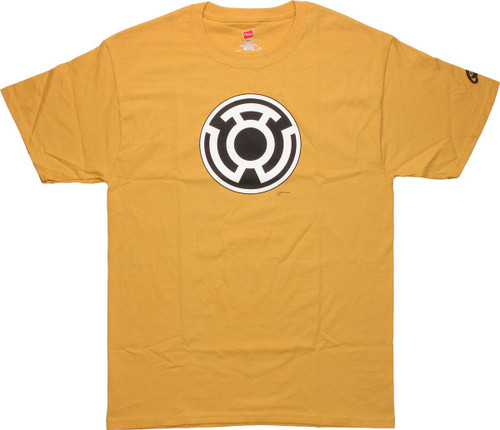 Green Lantern Sinestro Logo Gold T-Shirt