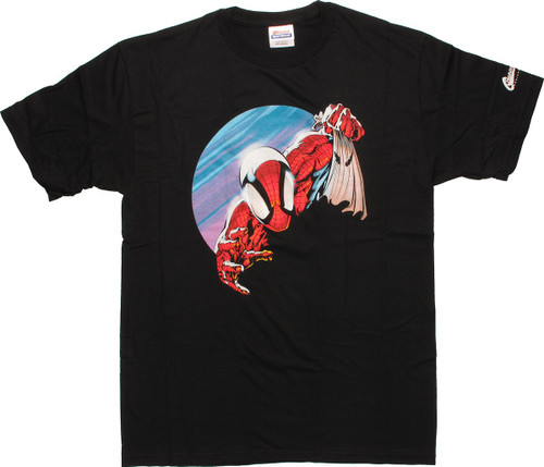 Spiderman Scarecrow Hood T-Shirt