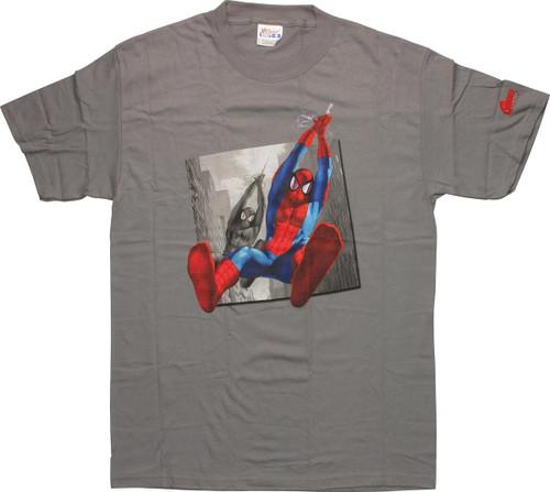 Spiderman Jump Photo T-Shirt