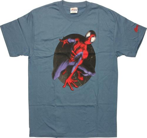 Spiderman Ultimate Web Circle T-Shirt