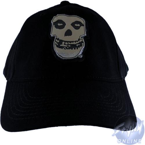 Misfits Silver Logo Hat