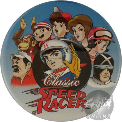 Speed Racer Group Magnet