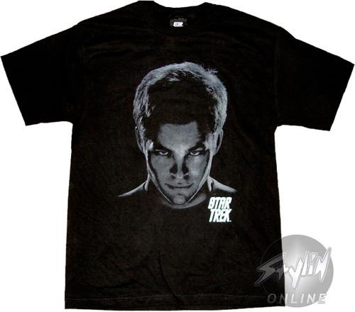 Star Trek Kirk Head T-Shirt