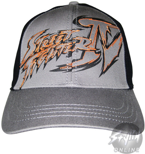 Street Fighter Name Hat