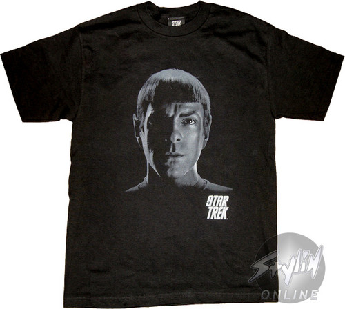 Star Trek Spock Head T-Shirt