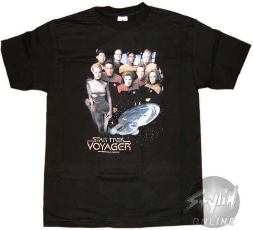 Star Trek Voyager Crew T-Shirt