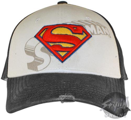 Superman Logo Name Hat