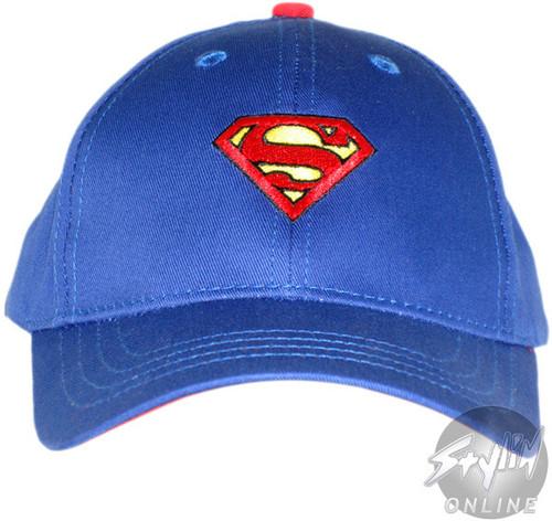Superman Classic Logo Youth Hat