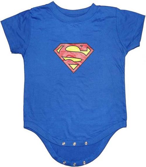 Superman Symbol Snap Suit