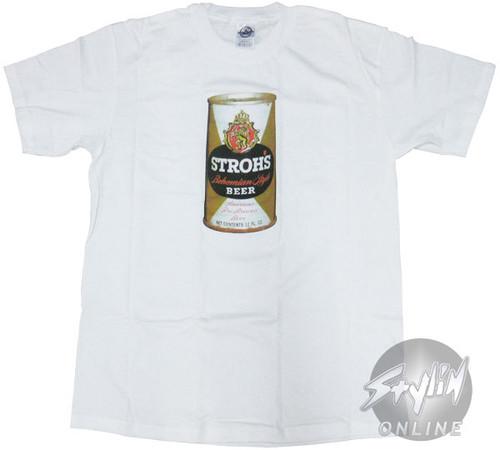 Strohs Can T-Shirt