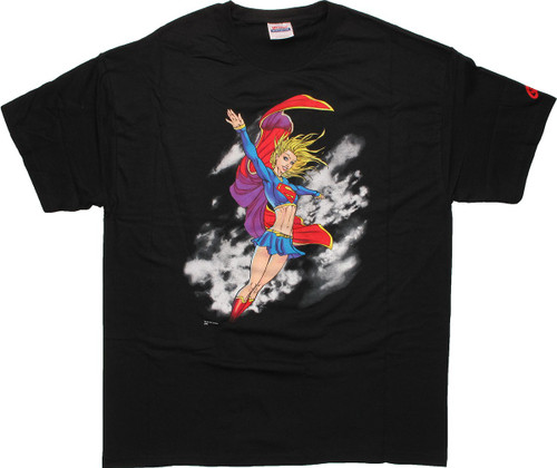 Supergirl Flying T-Shirt
