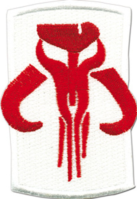 Star Wars Mandalorian Icon Patch