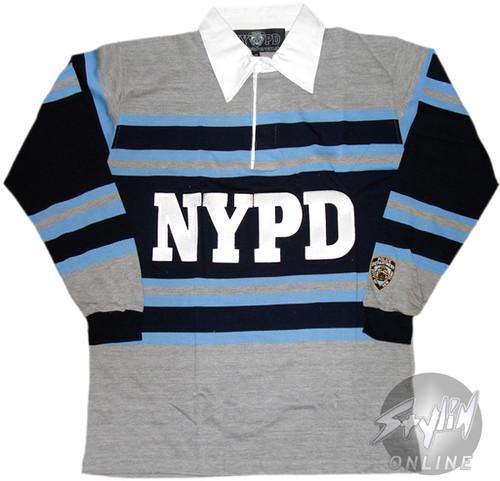 NYPD Stripes Polo Shirt