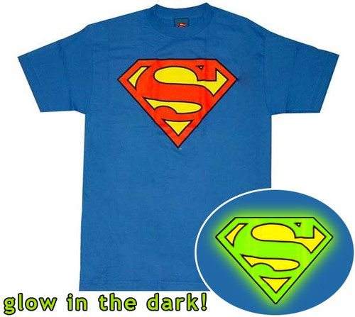 Superman Glow Logo T-Shirt