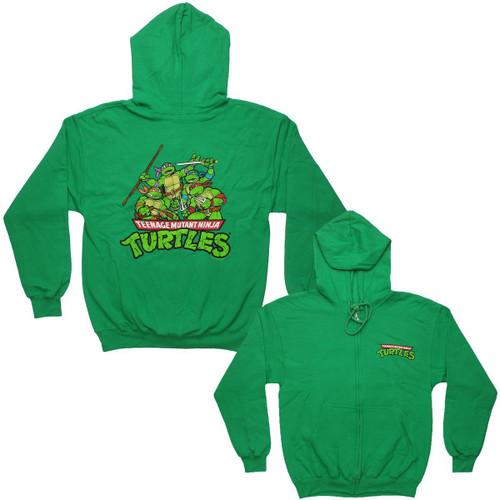 Teenage Mutant Ninja Turtles Group Hoodie