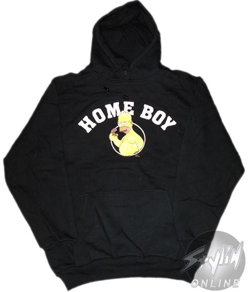 Simpsons Homer Home Boy Hoodie