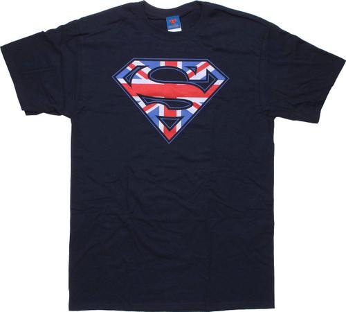 Superman Union Jack T-Shirt
