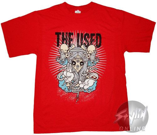 The Used Art Red T-Shirt