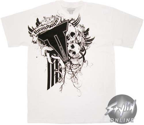 Throwdown Victims Skulls T-Shirt