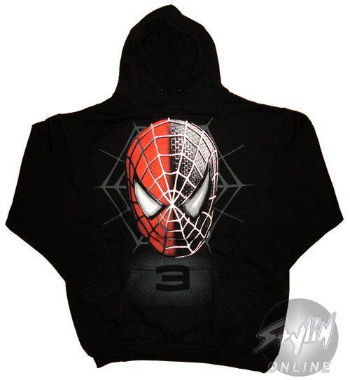 Spiderman Faces Hoodie