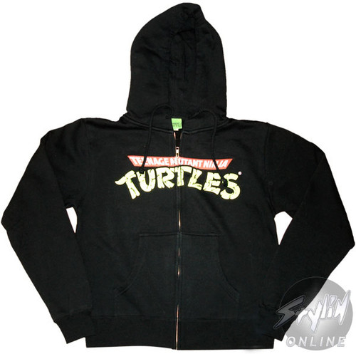 f7d9f12fd08 TMNT Ninja Turtles Junior Hoodie hoodies-tmnt-ninja-turtles-black-junior