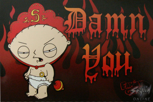Family Guy Portrait Postcard