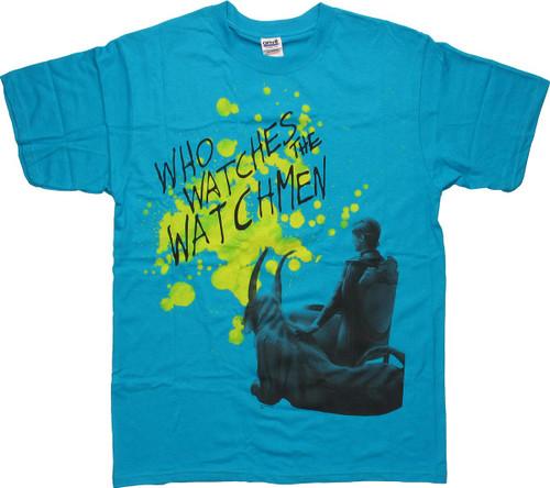 Watchmen Ozymandias Who Watches T-Shirt
