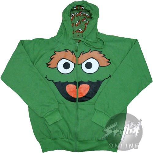 Sesame Street Oscar Hoodie