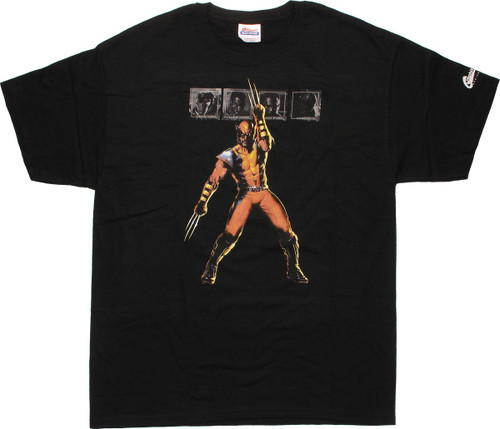 X Men Wolverine Boxed Others T-Shirt