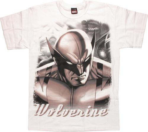 Wolverine Portrait Name T-Shirt