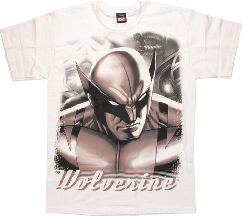 Wolverine Portrait Name T-Shirt