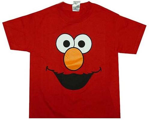 Elmo Face Kids T-Shirt