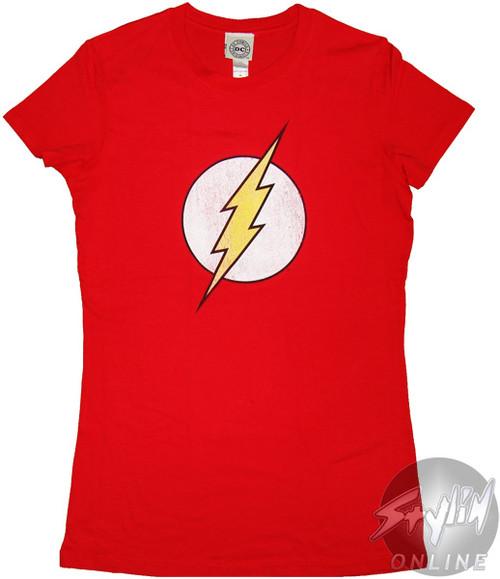 Flash Vintage Logo Juniors T-Shirt