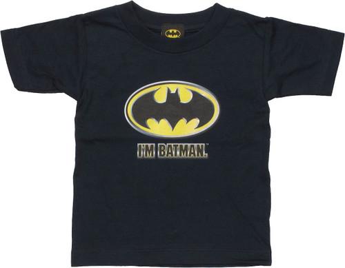 Batman Im Batman Toddler T-Shirt