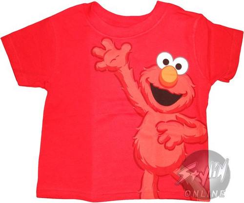 Sesame Street Elmo AO Kids T-Shirt